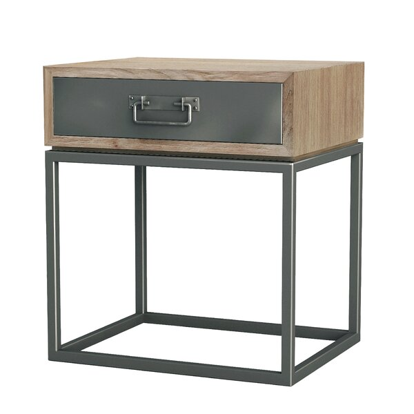 Williston Forge Hinkel 1 Drawer Nightstand & Reviews by Williston Forge