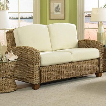 Lowest Price For Hollier Twill Loveseat by Bay Isle Home by Bay Isle Home