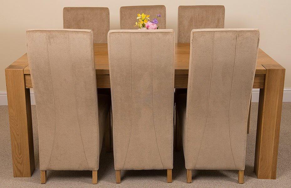 red barrel studio essgruppe trout river mit 6 st hlen. Black Bedroom Furniture Sets. Home Design Ideas