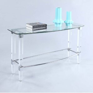 Idaris Console Table by Orren Ellis