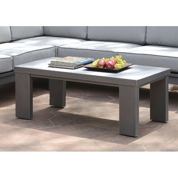 Sagers Metal Coffee Table by Brayden Studio