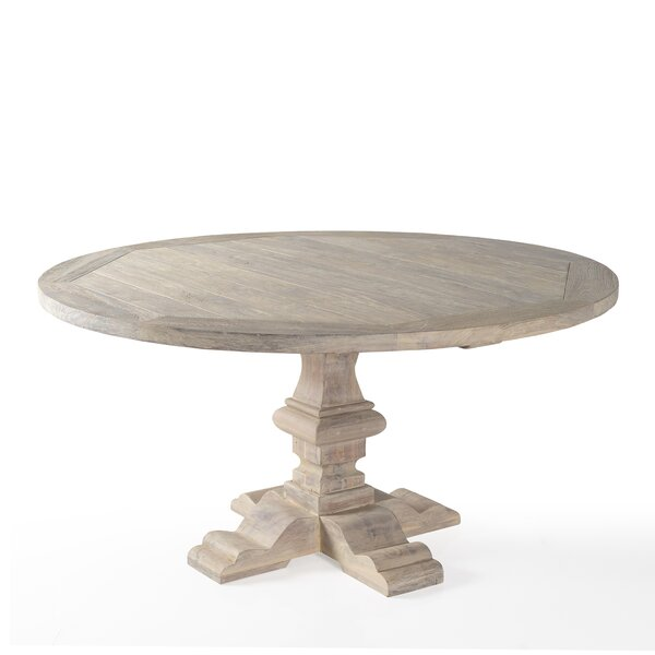 Franz Solid Wood Dining Table by One Allium Way