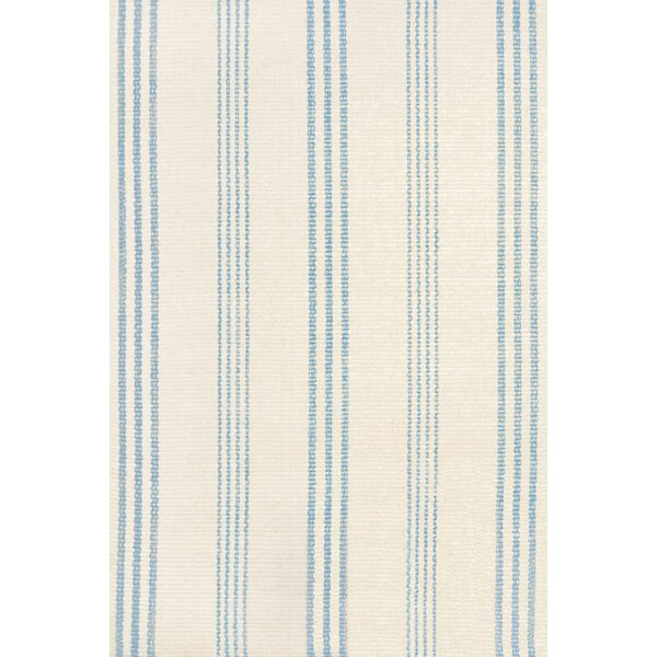 Blue/White Indoor/Outdoor Area Rug by Dash and Albert Rugs