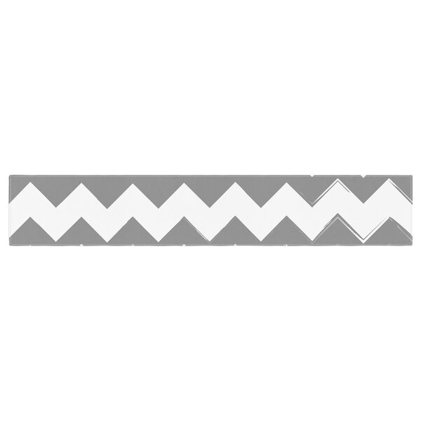 Candy Cane Chevron Table Runner by East Urban Home
