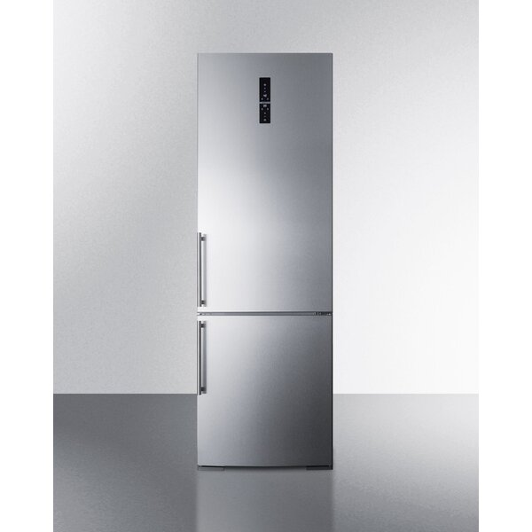 Summit Built-In 11.6 cu. ft. Bottom Freezer Refrigerator with Icemaker by Summit Appliance