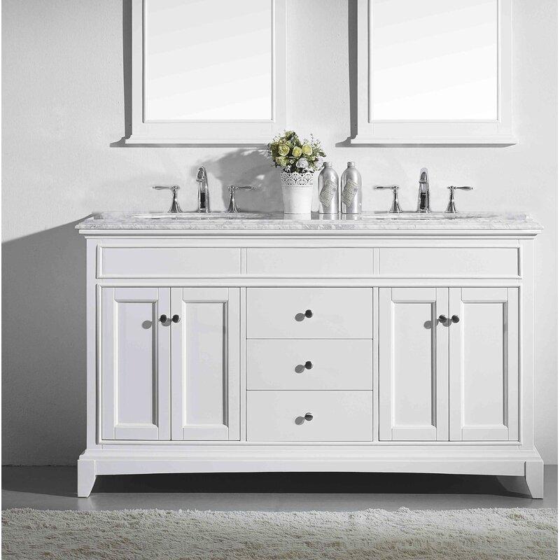 "Eviva Elite Stamford® 60"" Double Bathroom Vanity Set"