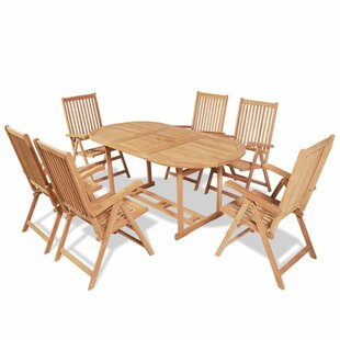 Guibert 6 Seater Dining Set