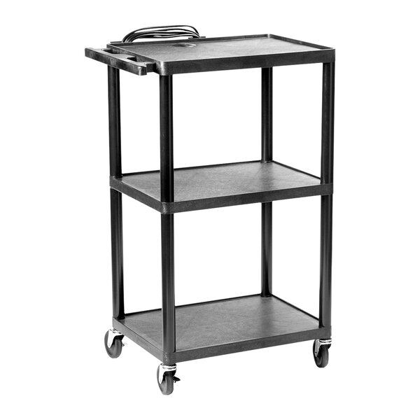Multi-Purpose Height Adjustable AV Cart by Hamilton Buhl