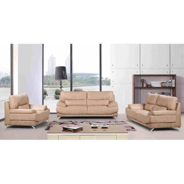 Hanish 3 Piece Living Room Set by Orren Ellis