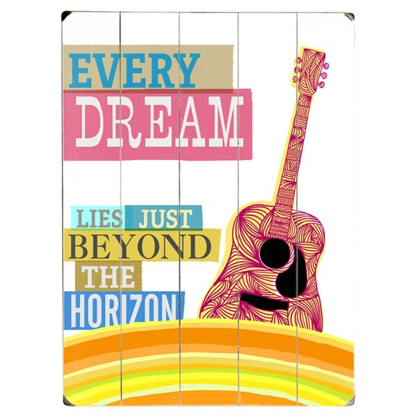 Every Dream Graphic Art Print Multi-Piece Image on Wood by Artehouse LLC
