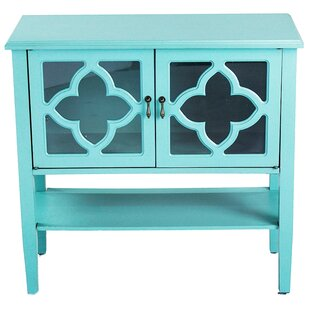 Yancey 2 Door Console Acccent Cabinet