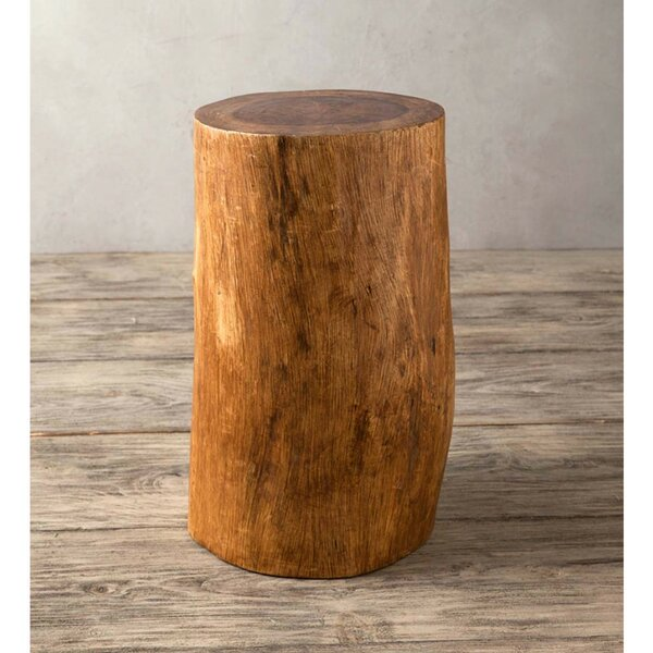 Tenafly Fir Tree Accent Stool by Millwood Pines
