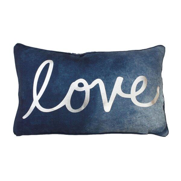 Footman Love Reversible Lumbar Pillow by Ivy Bronx