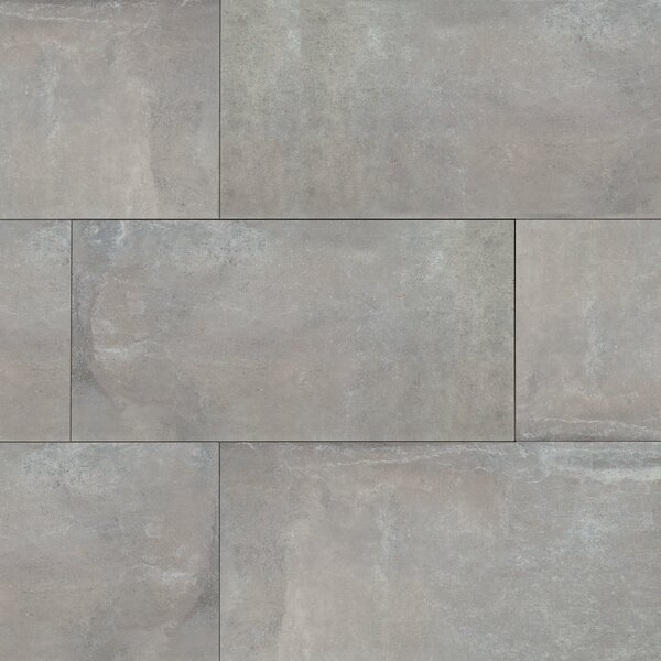 Cemento Napoli 12 x 24 Porcelain Field Tile in Gray by MSI