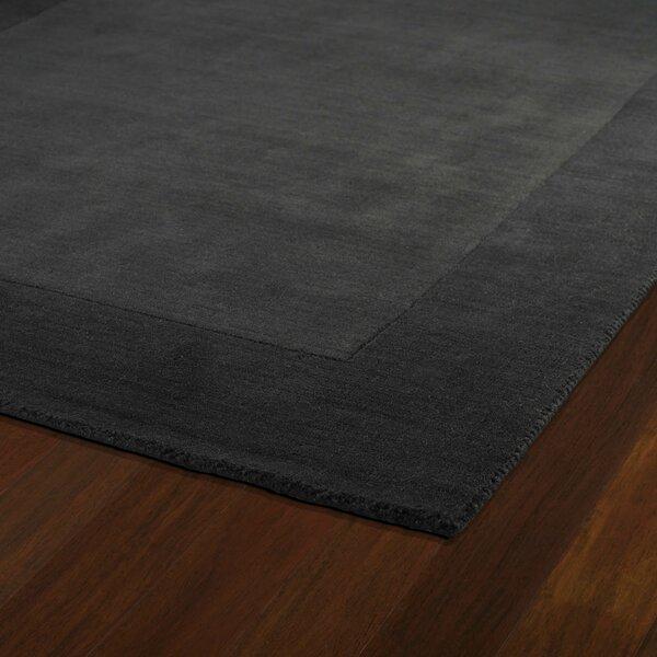 Attles Black Solid Kids Carbon Grey Rug by Red Barrel Studio