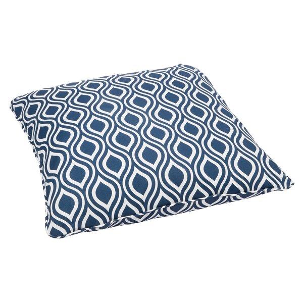 St Croix Indoor/Outdoor Floor Pillow by Rosecliff Heights