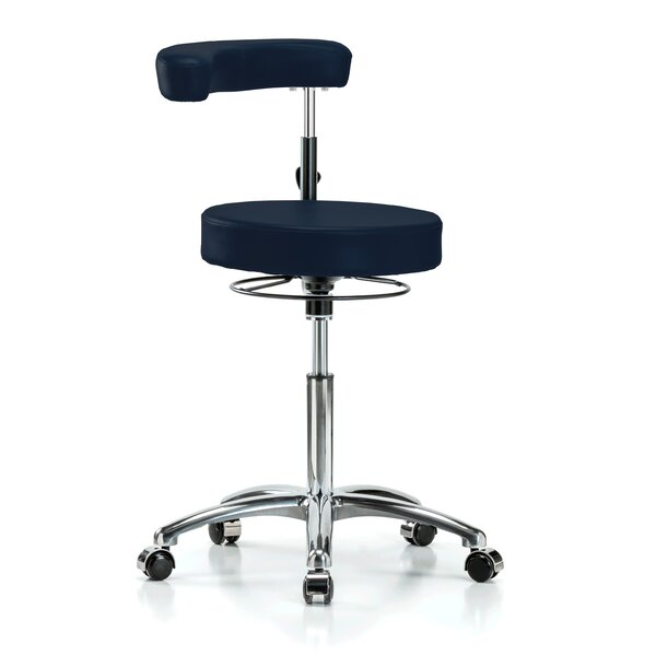 Height Adjustable Dental Stool with Procedure Arm by Perch Chairs & Stools