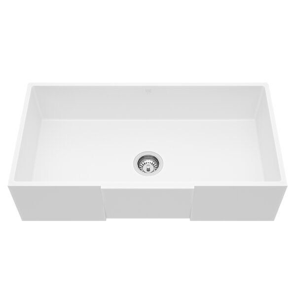 Handmade 36'' x 18'' Farmhouse Kitchen Sink by VIGO