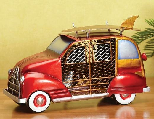 Demarcus Woody Car Figurine 4 Table Fan by Breakwater Bay