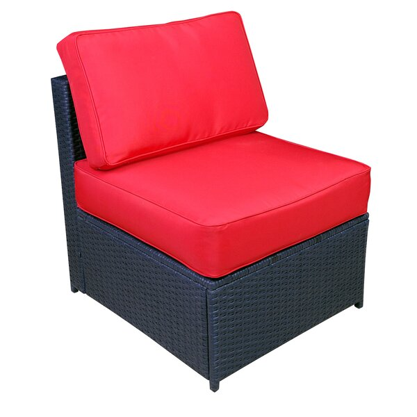 Rossana Patio Chair with Cushions (Set of 2) by Breakwater Bay Breakwater Bay