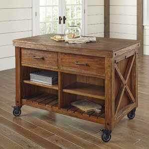 Vargas Kitchen Island by Birch Lane™ Best Reviews