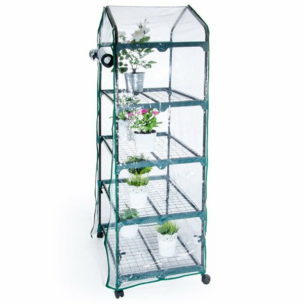 2.29 Ft. W x 1.60 Ft. D Mini Greenhouse by Pier Surplus