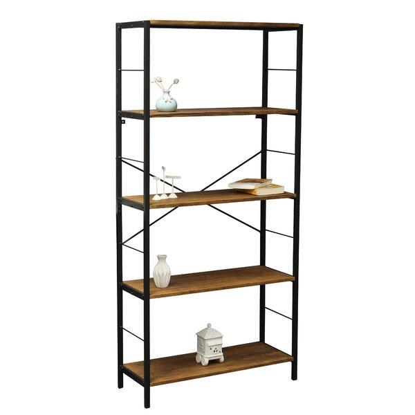 Lavinia 4 Tier Etagere Bookcase by Ebern Designs
