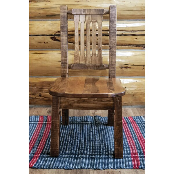 Abella Solid Wood Dining Chair by Loon Peak