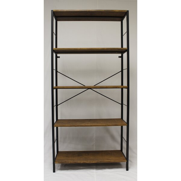 Lavinia 4 Tier Etagere Bookcase by Ebern Designs