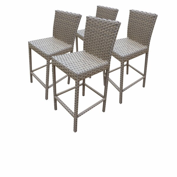 Oasis 30 Patio Bar Stool (Set of 4) by TK Classics
