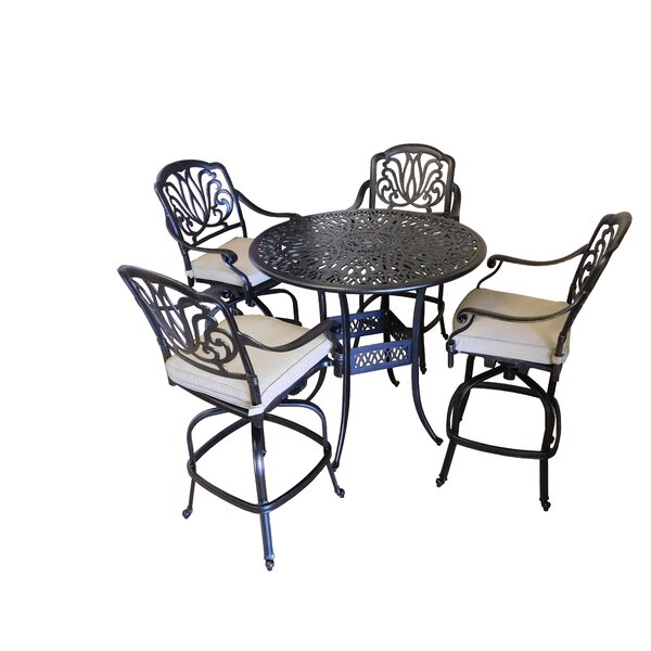 Tre 5 Piece Pub Table Set by Signature Rattan