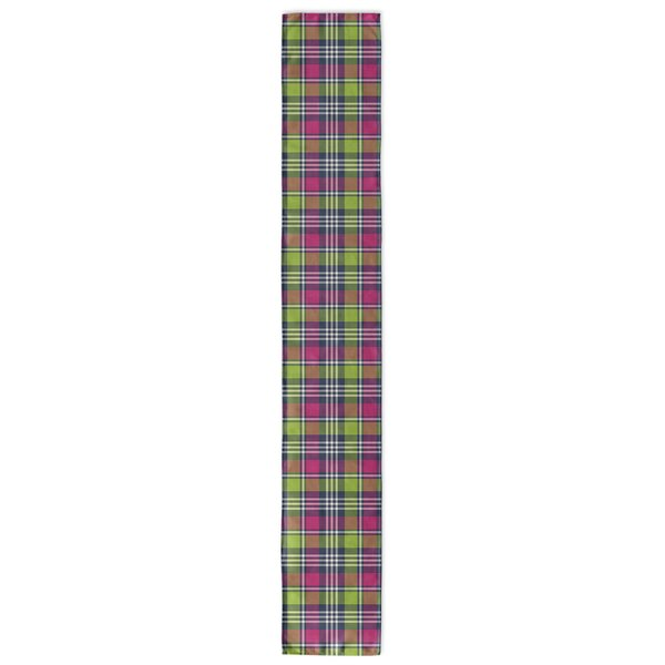 Zoelle Plaid Table Runner by Latitude Run