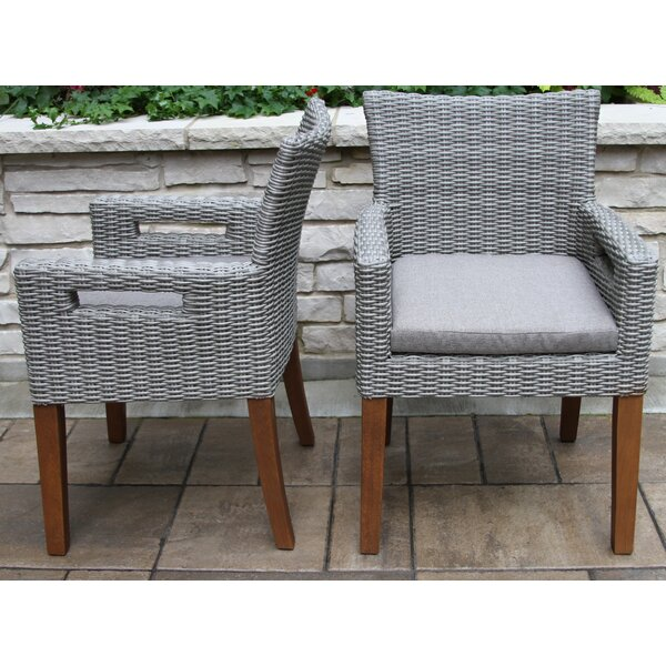 Moana Indoor/Outdoor Dining Chair Cushion (Set Of 2) By Beachcrest Home