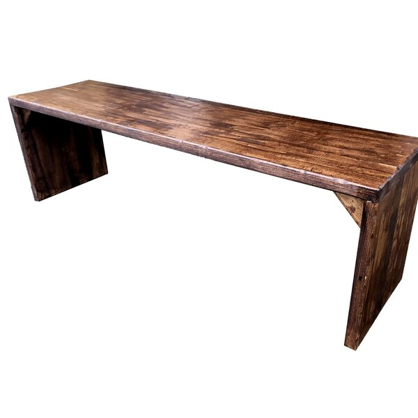Penniman Wooden Picnic Bench by Loon Peak