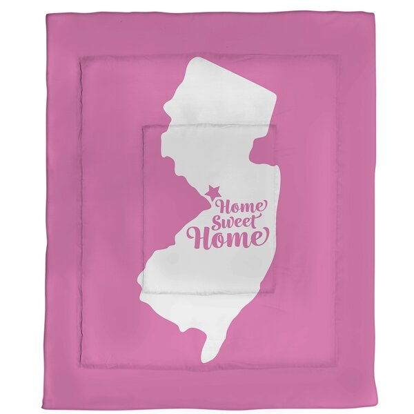 Trenton Home Sweet Single Reversible Comforter
