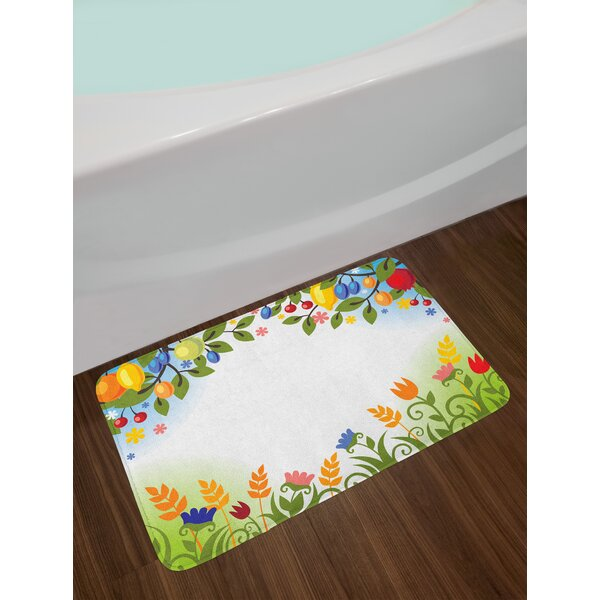 Harvest Fall Nature Bath Rug by East Urban Home