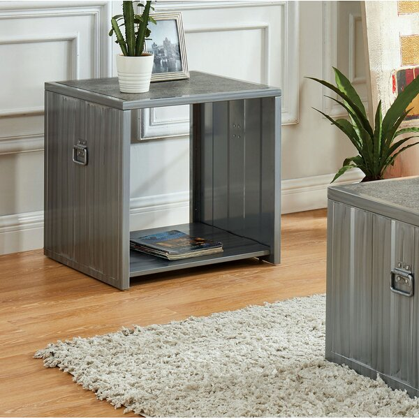 Lansten End Table With Storage By Latitude Run