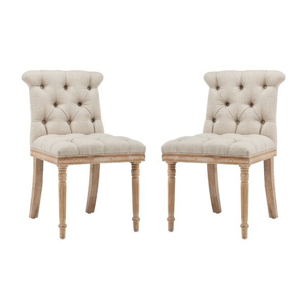 Sherrill Upholstered Dining Chair (Set of 2) by One Allium Way One Allium Way