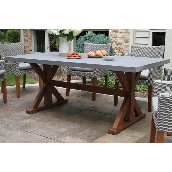 Isidore Dining Table by Beachcrest Home