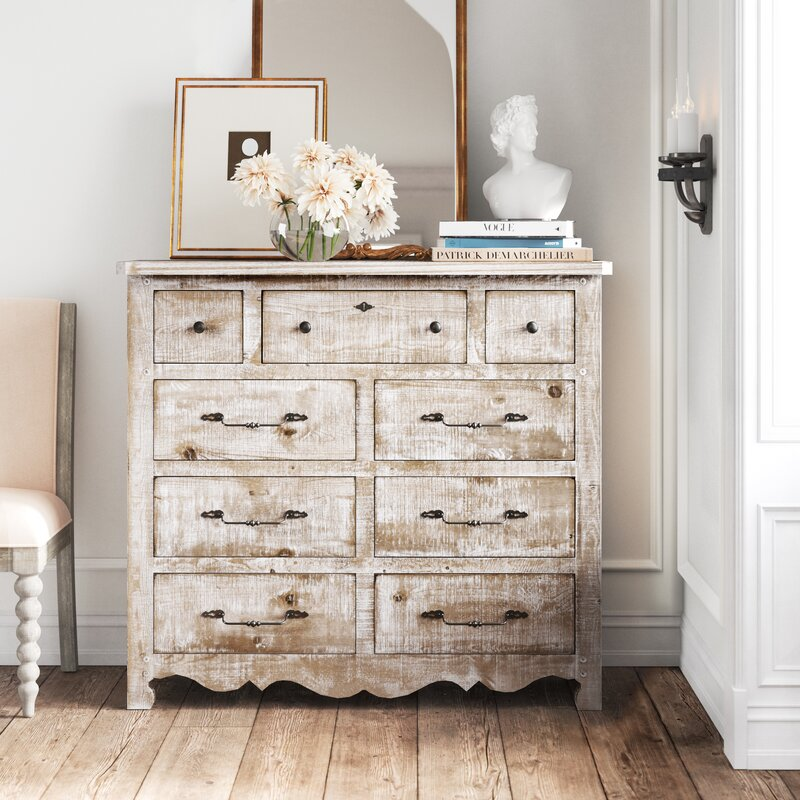 Lyra Standard Configurable Bedroom Set - from Kelly Clarkson Home collection - come see more French country decor and furniture goodness on Hello Lovely! #frenchcountry #furniture #dressers #kellyclarksonhome