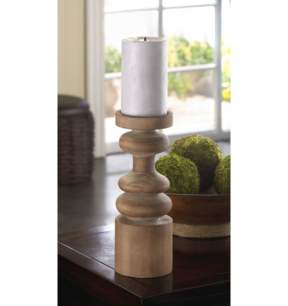 Craftsmen Wooden Candleholder by Zingz & Thingz