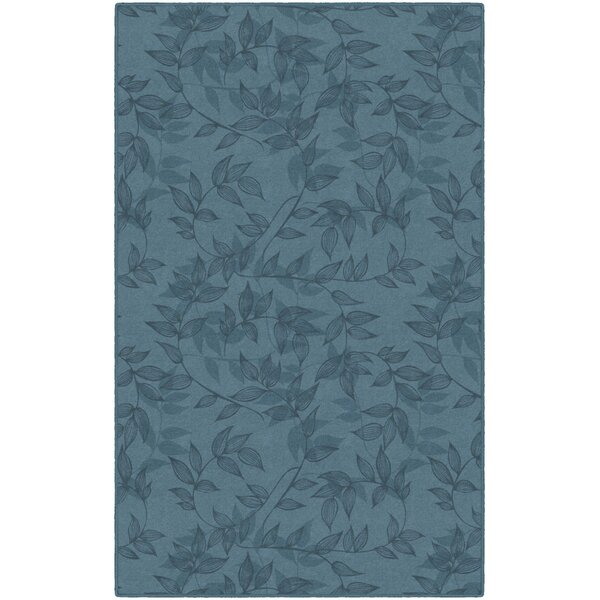 Roxana Floral Blue Area Rug by Winston Porter