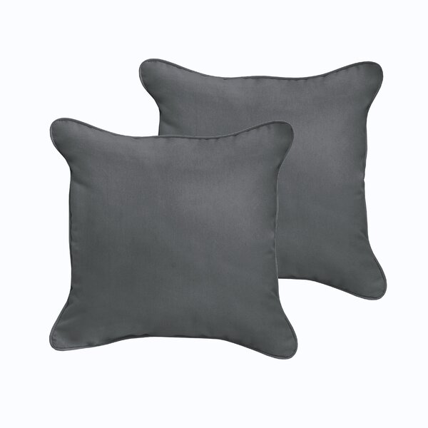 Mackenzie Outdoor Sunbrella Throw Pillow (Set of 2) by Laurel Foundry Modern Farmhouse