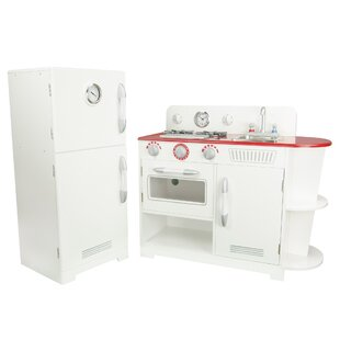 Price Check 2 Piece Play Kitchen Set By Teamson Kids