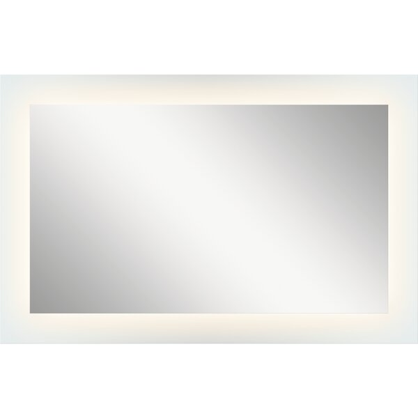Ritzman Modern LED Backlit Accent Mirror by Orren Ellis
