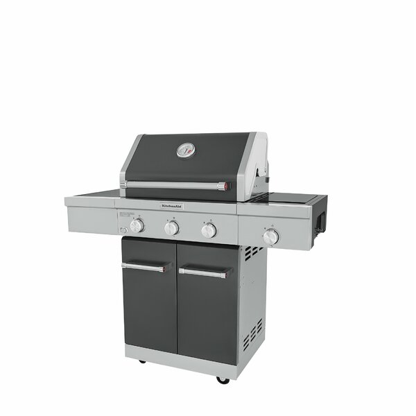 3-Burner Convertible Gas Grill by KitchenAid
