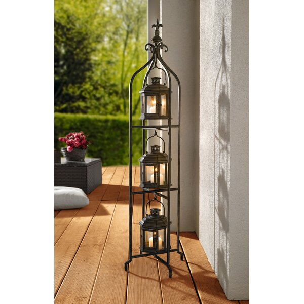 Metal/Glass Lantern by Pier Surplus