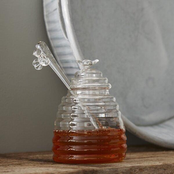 Hive Honey Pot and Dipper Storage Jar by Birch Lane™