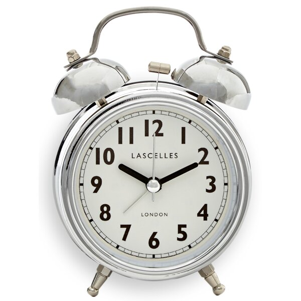 Bell Alarm Mental Clock by Lascelles London