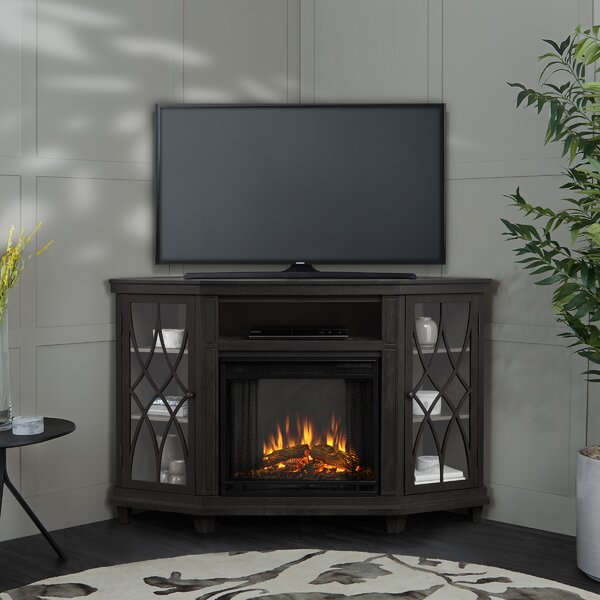Corner Unit TV Stand For TVs Up To 60
